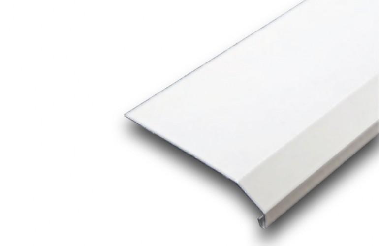 Alüminyum Denizlik Profili Beyaz Boyalı