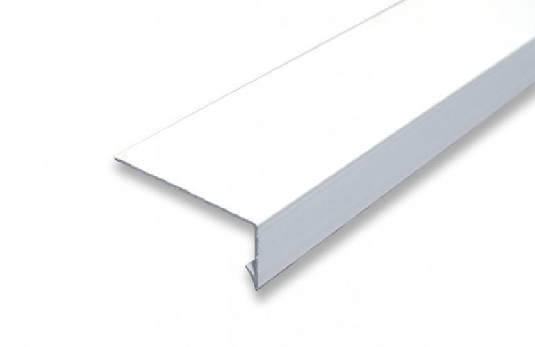 Dik Açılı Alüminyum Denizlik Profili Beyaz Boyalı